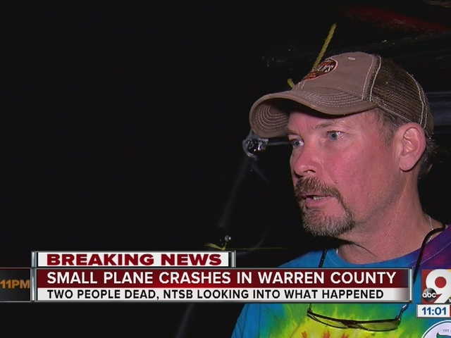 Two killed in small plane crash in Warren County