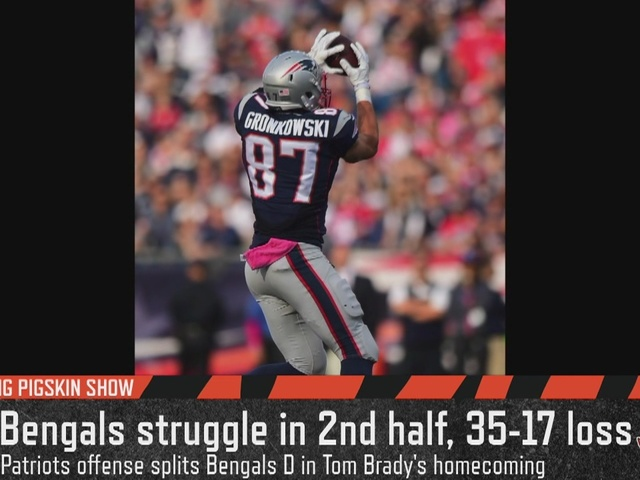 Cincinnati Bengals can't contain Gronk - Flying Pigskin (10/17/16)