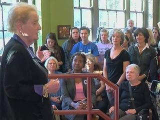 Madeleine Albright: This is a vote that counts