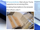USPS: Our workers don't destroy Trump ballots