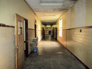 Inside a 'haunted' former elementary school