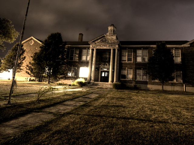 Abandoned school becomes 'haunted' local legend