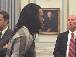 WATCH: Man breaks down in tears at sentencing