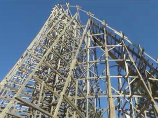 WATCH: Kings Island's new coaster takes shape
