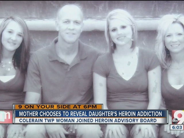 Motther of addict joins Hamilton County Heroin Coalition