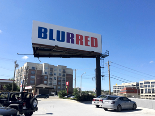 Tongue-in-cheek billboards poke fun at election