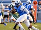 Big Blue beats Middletown on senior night