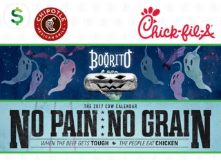 Check out these deals at Chipotle & Chick-fil-A!