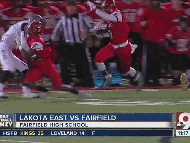 Fairfield 28, Lakota East 13