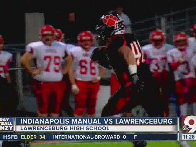 Lawrenceburg 68, Indianapolis Manual 6