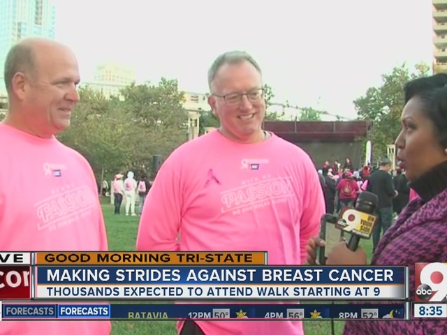 Making Strides Against Breast Cancer raises more than $200,000