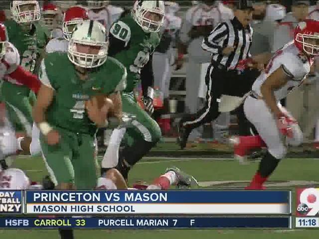 Mason 28, Princeton 7