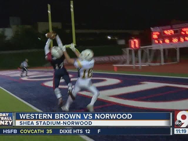 Norwood 42, Western Brown 18