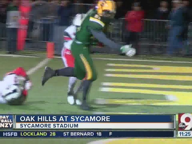 Sycamore 42, Oak Hills 22