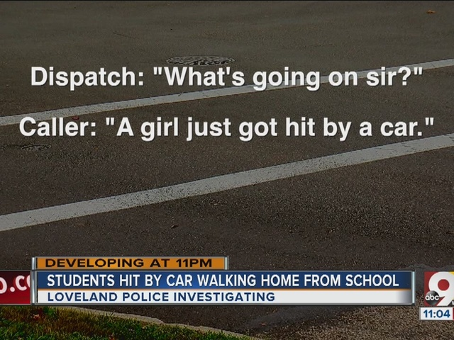 Two Loveland Middle School students hit by vehicle
