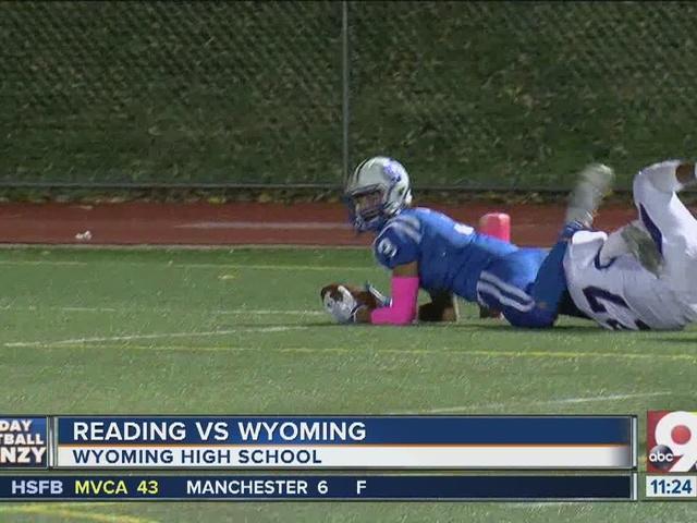Wyoming 42, Reading 13
