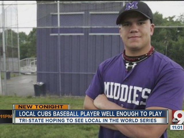 Middletown native, Cubs player may be well enough to play in World Series