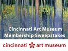 Cincinnati Art Museum Membership Sweepstakes