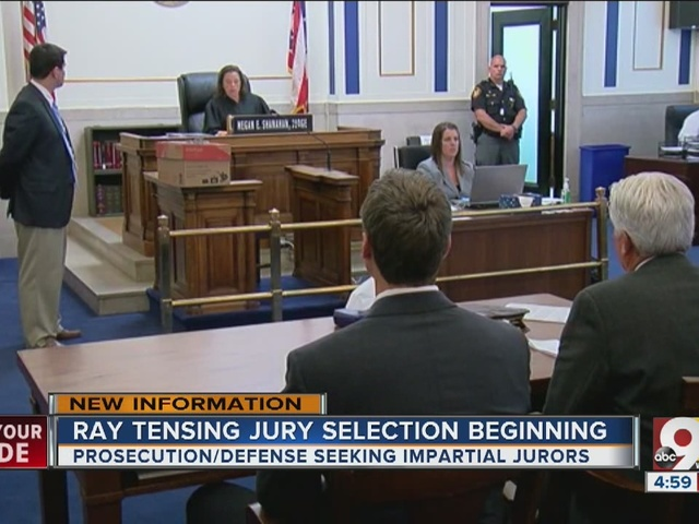 Jury selection begins in Ray Tensing murder trial