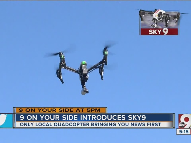 WCPO 9 On Your Side introduces Sky 9