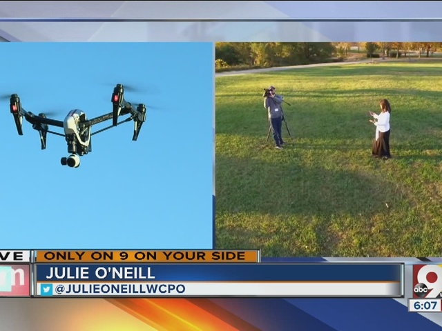 WCPO debuts Sky 9 quadcopter to tell stories from a bird's-eye view