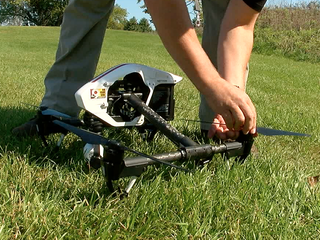VIDEO: Say hello to WCPO's Sky 9 quadcopter