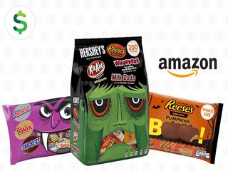 Save up to 35% on Halloween candy at Amazon