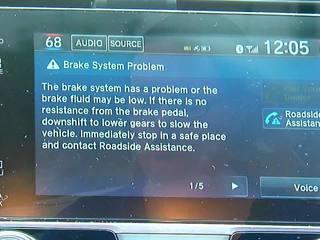 Some Honda owners report phantom warning codes