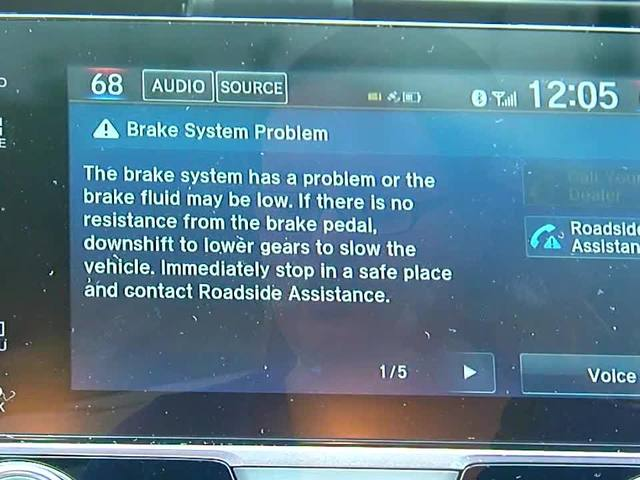 Honda phantom warnings