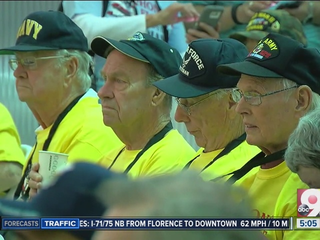 Honor Flight taking 70 veterans to DC