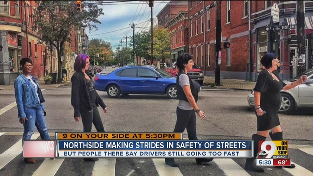 Hamilton avenue in northside gets some safety improvements for Abbey road salon