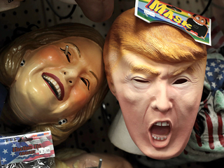 Can Halloween mask sales predict the election?