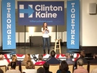 Chelsea Clinton pushes for early voting in OTR
