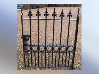 Thieves steal Covington gates off their hinges