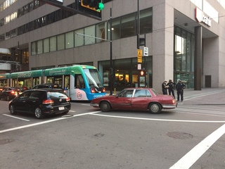 PD: Streetcar reopens following bomb threat