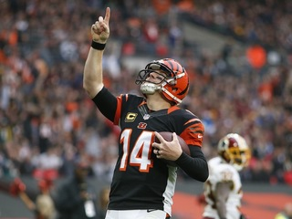 Andy Dalton and wife, Jordan, are expecting