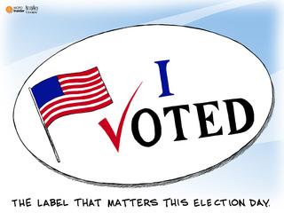 We've got one word: VOTE!
