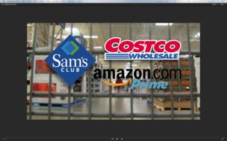 Amazon vs Sam's Club vs Costco
