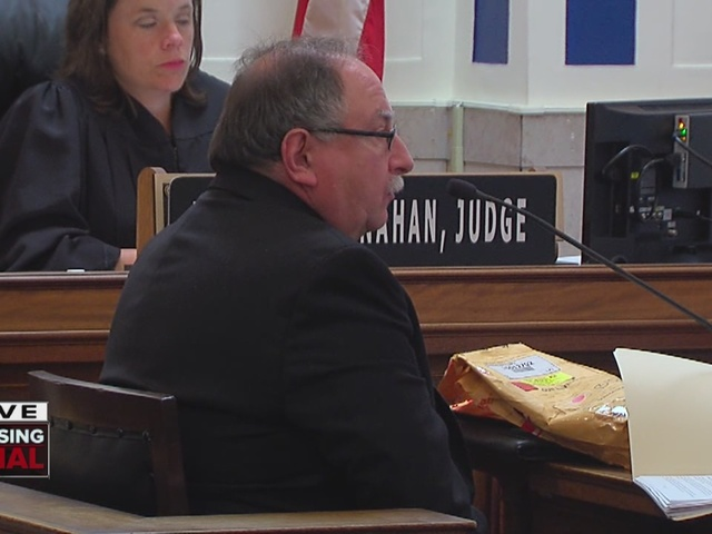 Tensing trial Day 5: Coroner's office crime lab expert testifies