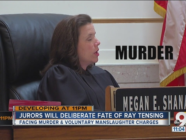 Jurors will deliberate over fate of Ray Tensing