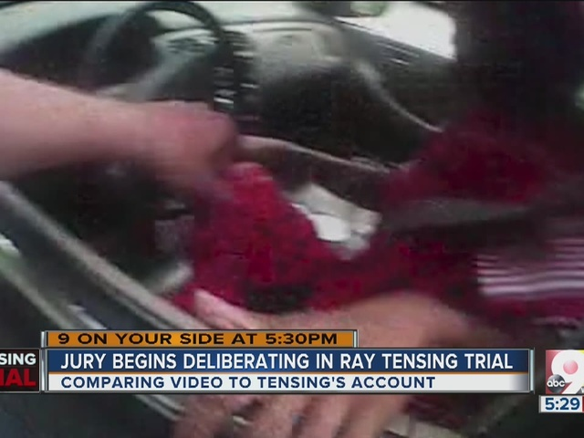 The key evidence in Ray Tensing murder trial