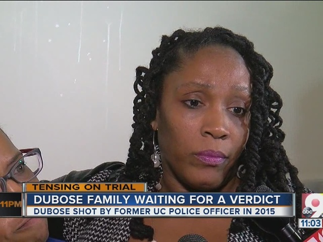 DuBose's family waits for verdict