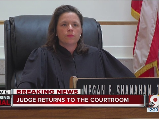 Judge Shanahan asks jurors to continue deliberating