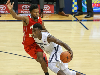 Xavier's skid hits six in loss to Marquette
