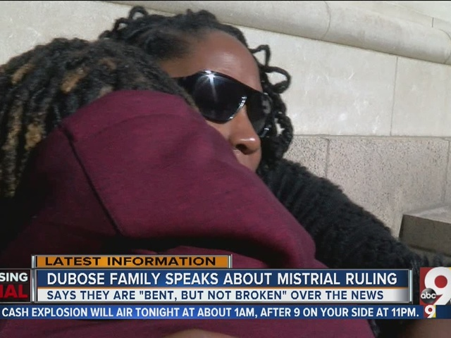 DuBose family speaks out about mistrial ruling