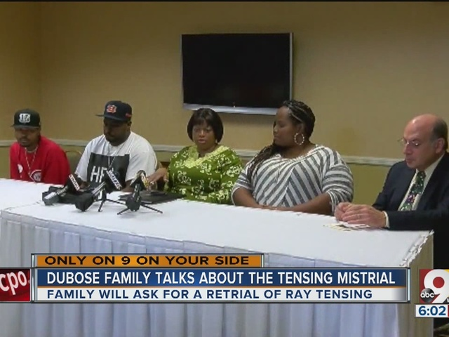 DuBose family speaks out about mistrial