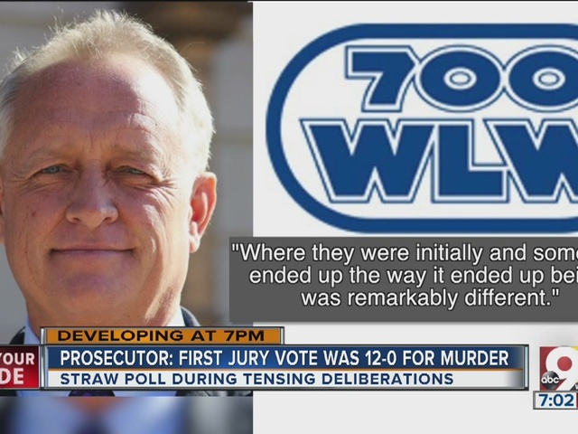 Prosecutor: First jury vote was 12-0 for murder