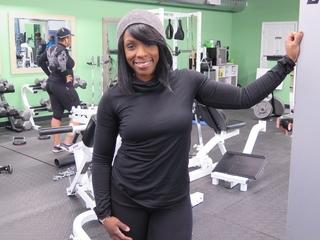 At her gym, challenge equals change