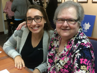Seniors, teens bond, learn from each other