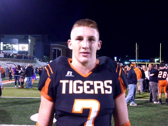 Lawrenceburg LB Mason Parris talks about playing in Indiana 3A…